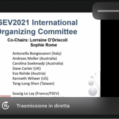 COVID-19 Emergency. Dr. Antonella Bongiovanni on the results of the European network VES4US at ISEV2021