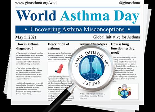 World Asthma Day 2021 May 5, 2021 -Velia Malizia,  IRIB CNR researcher inside Video.