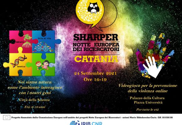 Sharper Night2021: Notte Europea dei Ricercatori. IRIB CNR Catania
